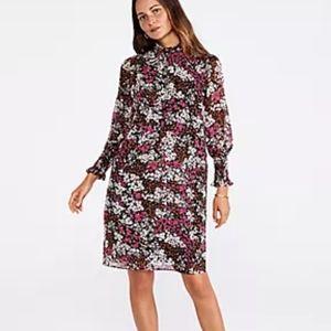 Ann Taylor smock neck NWT dress size 16